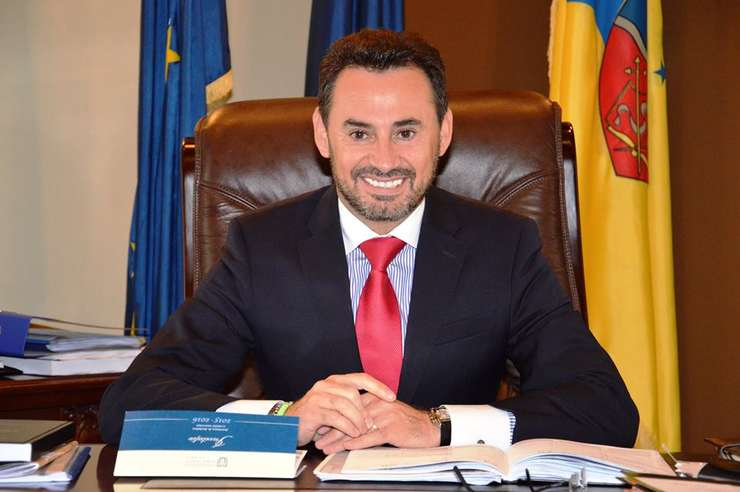 Primarul Gheorghe Falcă, prezent la urne