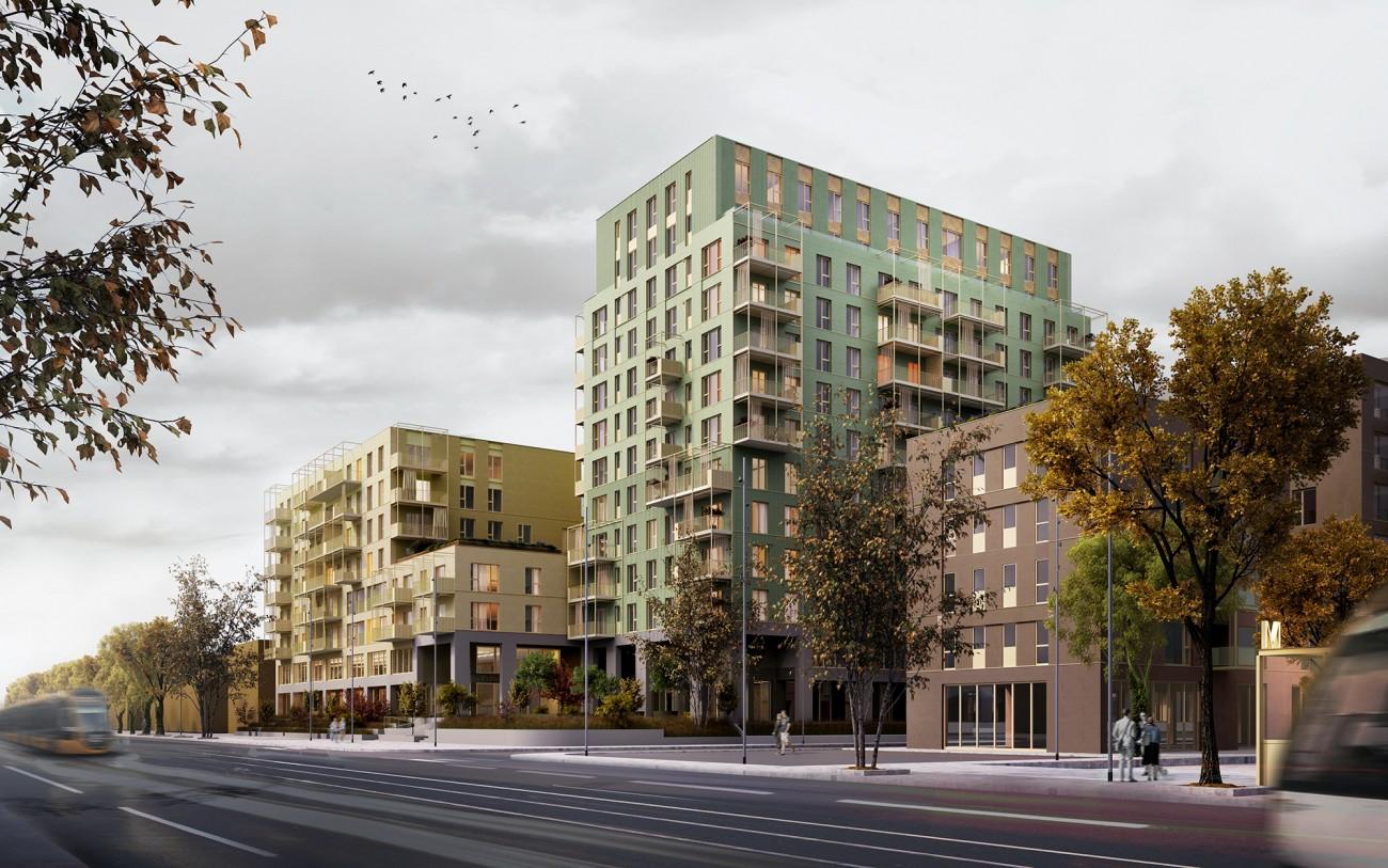 Marmura Residence: 464 de apartamente aproape de birourile din Expoziției-Pipera