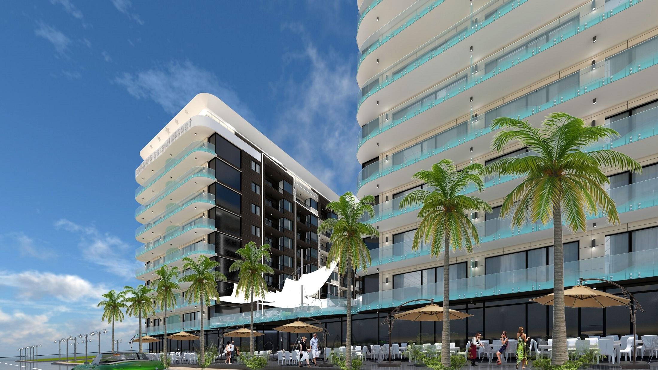 Nou ansamblu in prima linie la plaja – Building Stefan Resort